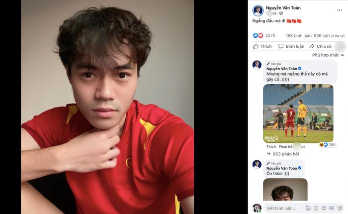 Thất bại trước Australia, dàn tuyển thủ đồng loạt đăng status, Văn Toàn nói 4 từ khiến dân mạng chao đảo Ảnh 1