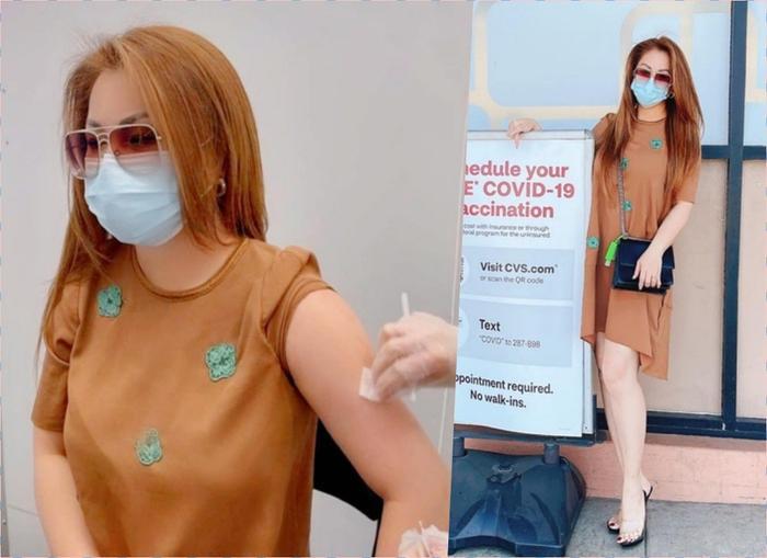 Sao Việt đi tiêm vaccine Covid: Người kín mít, người áo dây gợi cảm