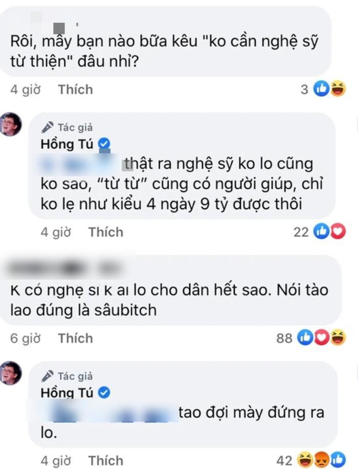 Quản lý Huỳnh Lập gây bức xúc với phát ngôn liên quan về quan điểm: Không có nghệ sĩ không ai lo cho dân Ảnh 2