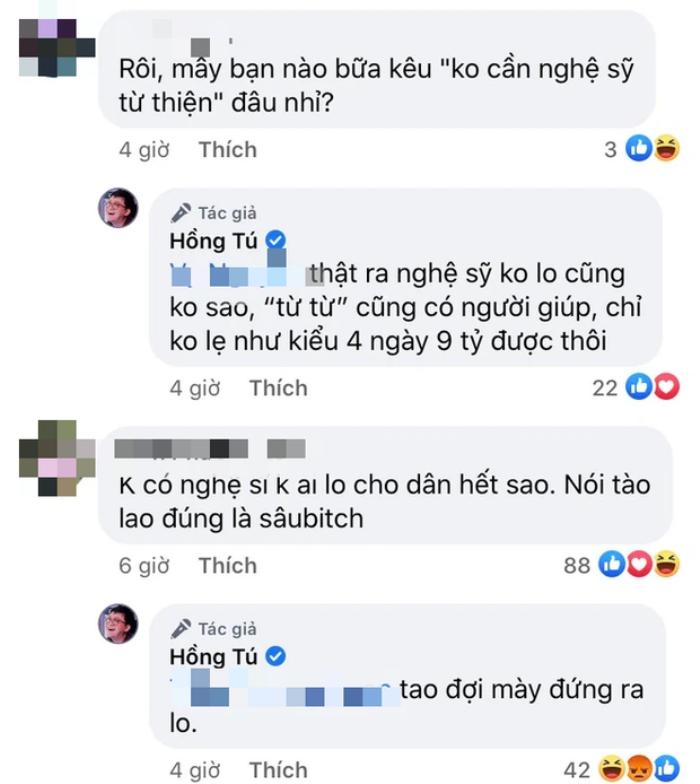 Động thái đầu tiên của Huỳnh Lập sau khi Hồng Tú nhận 'bão gạch đá' từ dư luận Ảnh 2