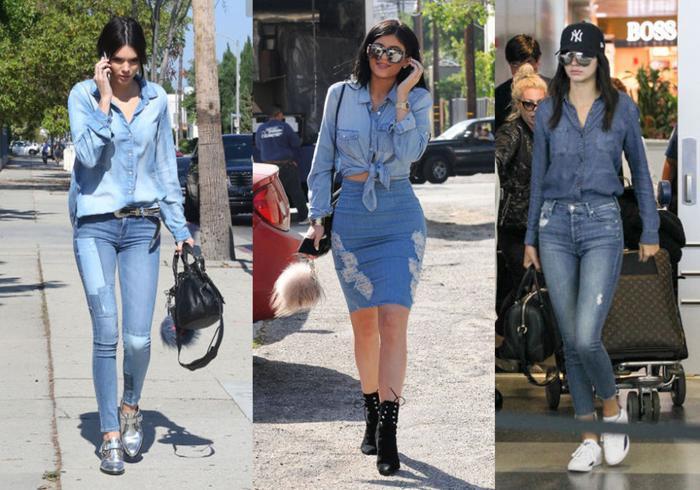Tip lên đồ đơn giản nhưng 'chặt đẹp cả thiên hạ' của Kendall Jenner và Kylie Jenner Ảnh 7