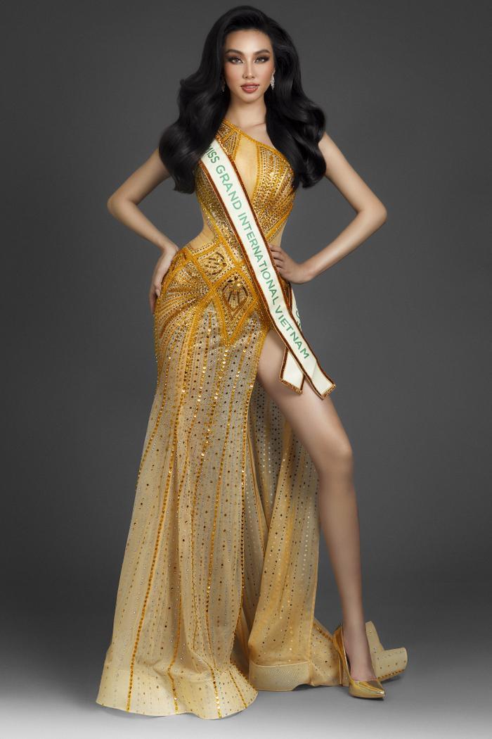 Miss Grand Việt Nam Thùy Tiên trả lời phỏng vấn Tiếng Anh cực gắt khiến fans bất ngờ Ảnh 1