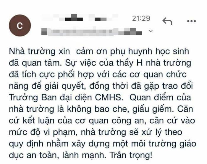 Thầy giáo đã có vợ con bị tố quấy rối nữ sinh, nhắn tin 'gạ' đi chơi riêng rồi liên tục nhắc xóa tin nhắn Ảnh 5