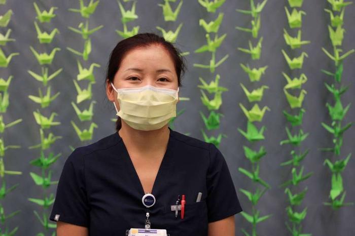 Trải nghiệm đắt giá của nữ y tá gốc Việt giữa đại dịch Covid-19 ở Mỹ Ảnh 1