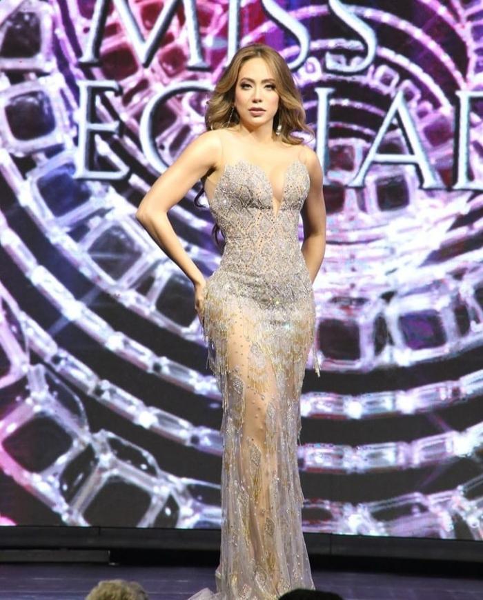 Nhan sắc của đại diện Ecuador tại Miss Universe 2021 bị fan la ó vì nhạt nhẽo kém xinh Ảnh 1
