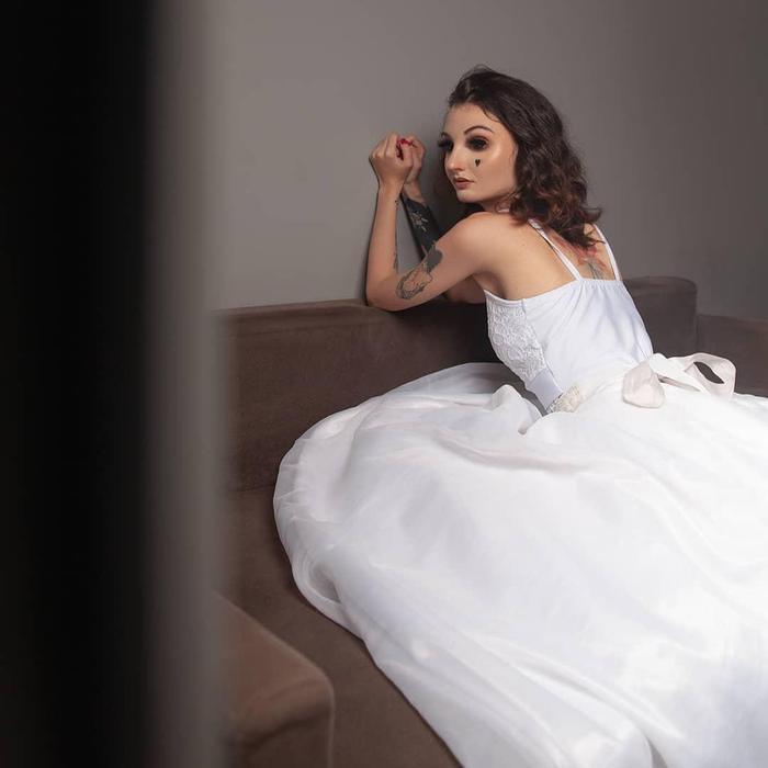 Mỹ nhân xăm kín người như dị nhân gây tranh cãi khi thi Hoa hậu tại Brazil Ảnh 3