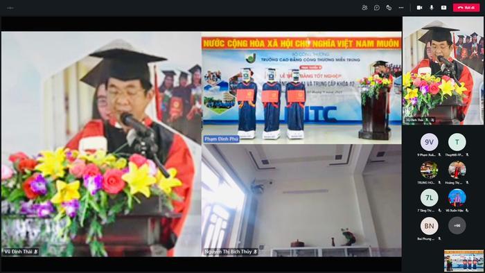 Một trường tại Việt Nam dùng robot để thay thế sinh viên nhận bằng tốt nghiệp Ảnh 3