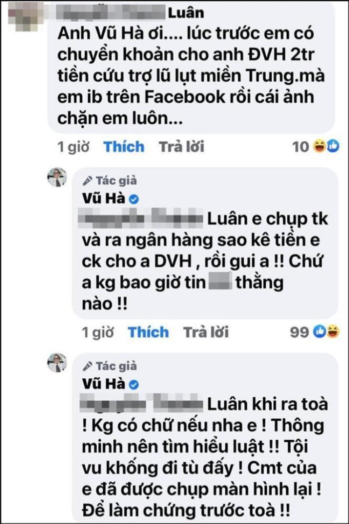 Một sao Vbiz 'ra tay' đáp trả quyết liệt với anti-fan khi bị hỏi chuyện Đàm Vĩnh Hưng làm từ thiện
