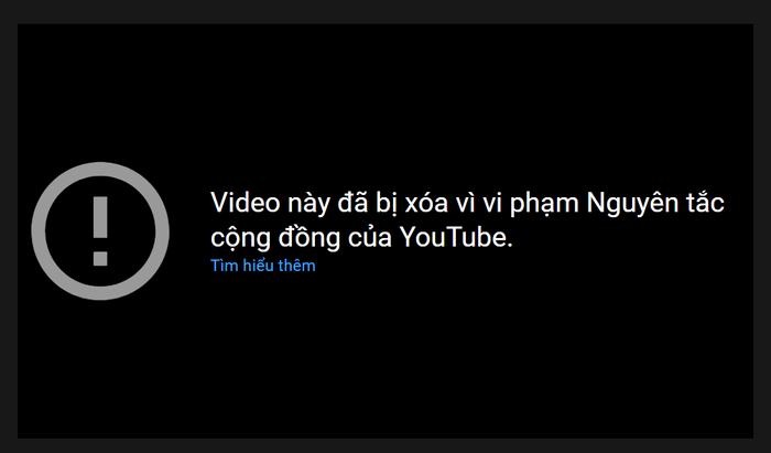 Con trai Hòa Minzy vi phạm 'quy tắc cộng đồng' của YouTube, bị xóa luôn vlog trong 'một nốt nhạc'