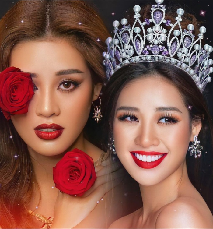 Khánh Vân khiến fan Việt tự hào khi lọt top 20 Hoa hậu của các Hoa hậu 2020 Ảnh 1