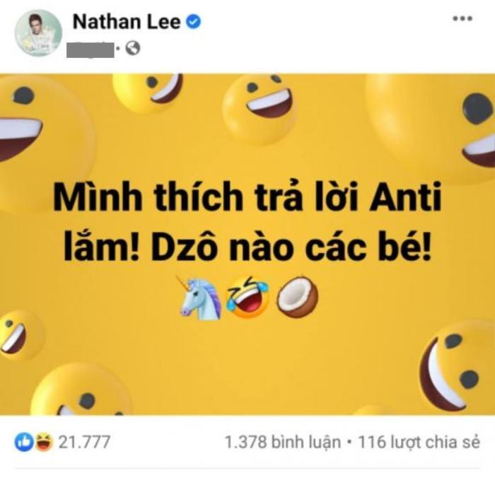 Liên tục bị hỏi về giới tính, Nathan Lee trả lời một câu khiến khán giả 'tái mặt' Ảnh 1
