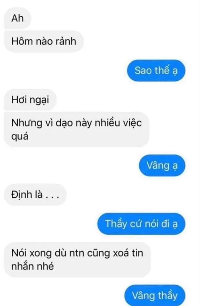Sự thật vụ nam giáo viên THPT Cẩm Phả bị tố quấy rối, nhắn tin 'gạ' nữ sinh đi chơi riêng Ảnh 4