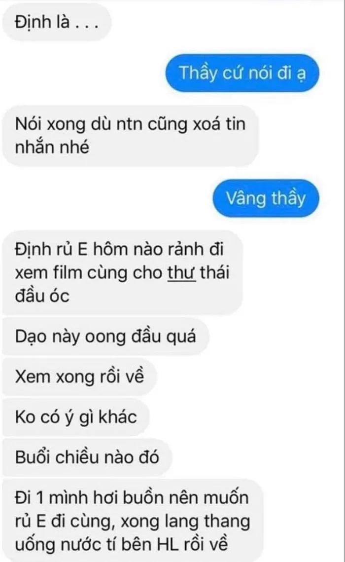 Sự thật vụ nam giáo viên THPT Cẩm Phả bị tố quấy rối, nhắn tin 'gạ' nữ sinh đi chơi riêng Ảnh 5