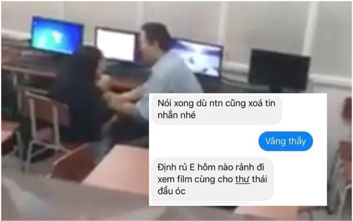 Sự thật vụ nam giáo viên THPT Cẩm Phả bị tố quấy rối, nhắn tin 'gạ' nữ sinh đi chơi riêng Ảnh 2