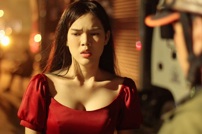 Diễn viên Ngọc Trinh bất ngờ tái xuất sau thời gian cạo đầu quy y, còn cân hẳn 2 vai chính trong phim mới Ảnh 5