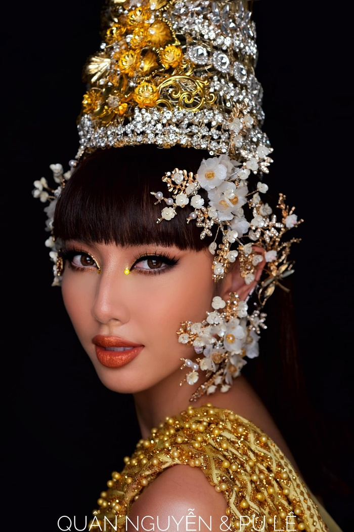 Miss Grand VietNam Thùy Tiên cosplay Lisa, fan ngây ngất vì quá đẹp Ảnh 4