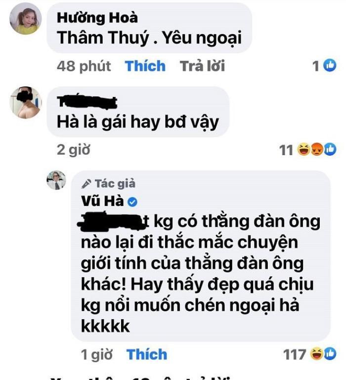 Vũ Hà bị anti-fan hỏi về chuyện giới tính, cách trả lời 'xéo sắc' chẳng kém cạnh Nathan Lee