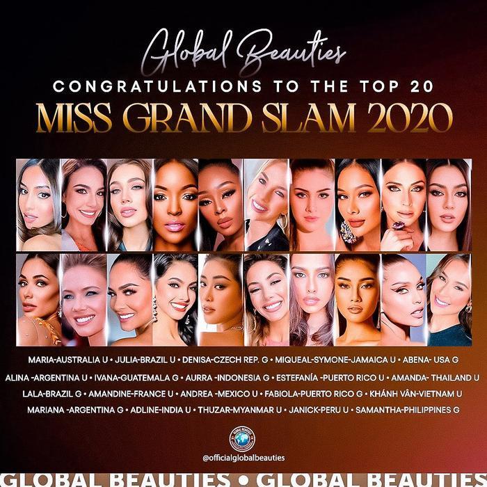 Để có mặt tại Top 8 Miss Grand Slam: Khánh Vân phải hạ gục 4 đối thủ cực gắt này, áp lực quá lớn? Ảnh 1