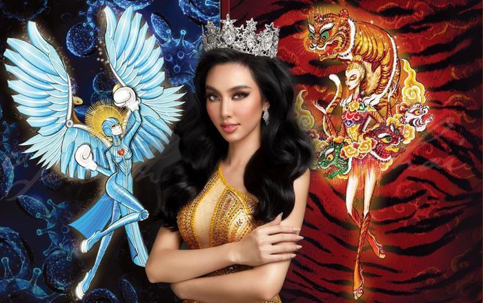 Hé lộ thiết kế National Costume cho Thùy Tiên tại Miss Grand: Nhiều ý nghĩa - giàu thông điệp Ảnh 2