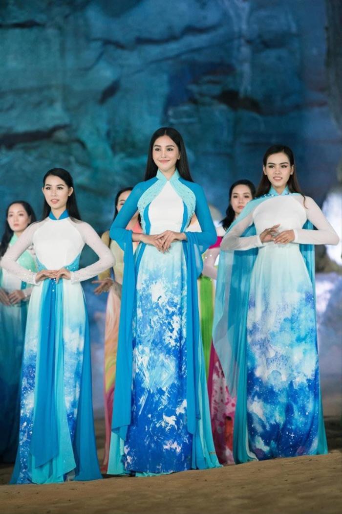 Fan sắc đẹp phát sốt vì chiếc áo dài 'thần thánh', cứ mặc lên là auto thành Hoa hậu Ảnh 3