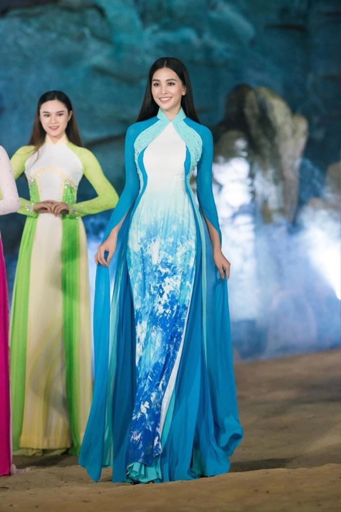 Fan sắc đẹp phát sốt vì chiếc áo dài 'thần thánh', cứ mặc lên là auto thành Hoa hậu Ảnh 2