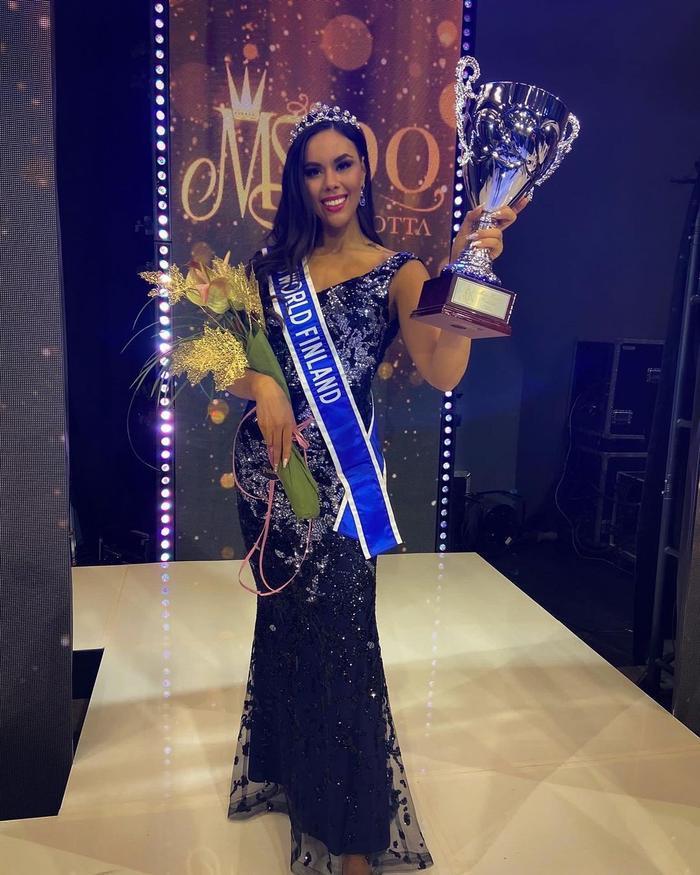 Thất bại tại Miss Earth, Emilia Lepomäki đại diện Phần Lan tại Miss World: Có làm khó được Đỗ Hà? Ảnh 1