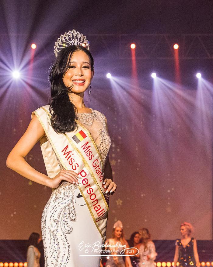 Cô gái 'nấm lùn' cao 1m66 đại diện Bỉ tham dự Miss Grand: Không có gì nổi bật so với Thùy Tiên Ảnh 1