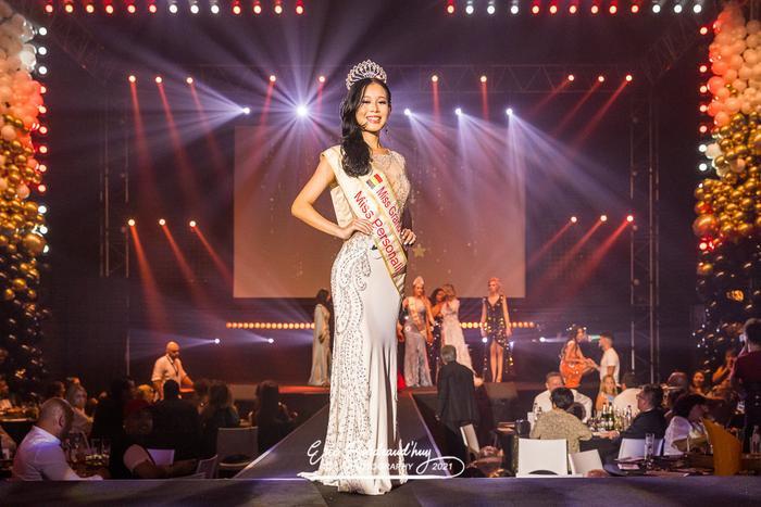 Cô gái 'nấm lùn' cao 1m66 đại diện Bỉ tham dự Miss Grand: Không có gì nổi bật so với Thùy Tiên Ảnh 2