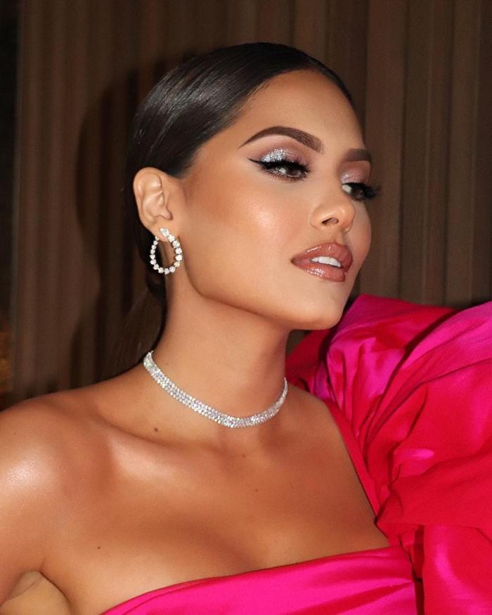 Hoa hậu Hoàn Vũ Andrea Meza mặc chiếc váy như muốn làm 'mẹ thiên hạ' trên thảm đỏ Ảnh 6