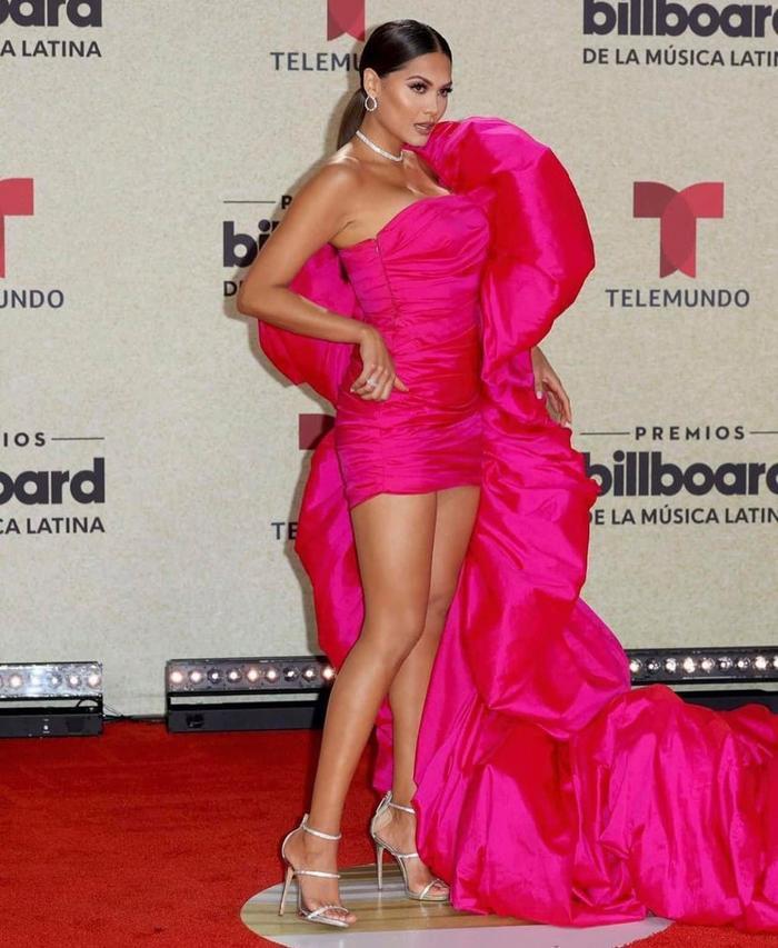 Hoa hậu Hoàn Vũ Andrea Meza mặc chiếc váy như muốn làm 'mẹ thiên hạ' trên thảm đỏ Ảnh 4