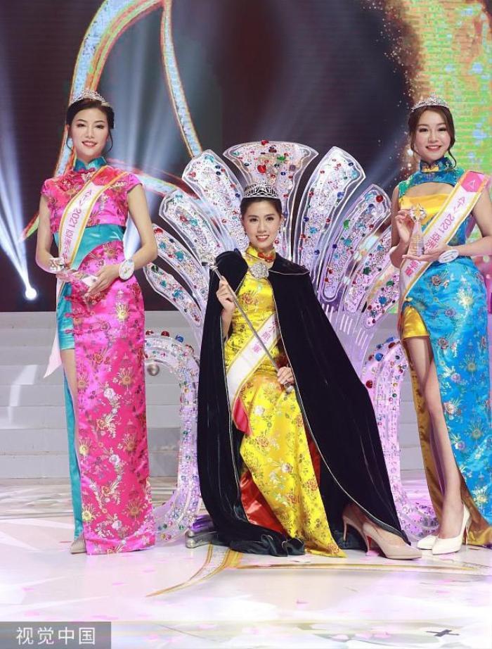 Tân Hoa hậu châu Á 2021 bị thí sinh xấu béo lấn át trong đêm đăng quang Ảnh 2