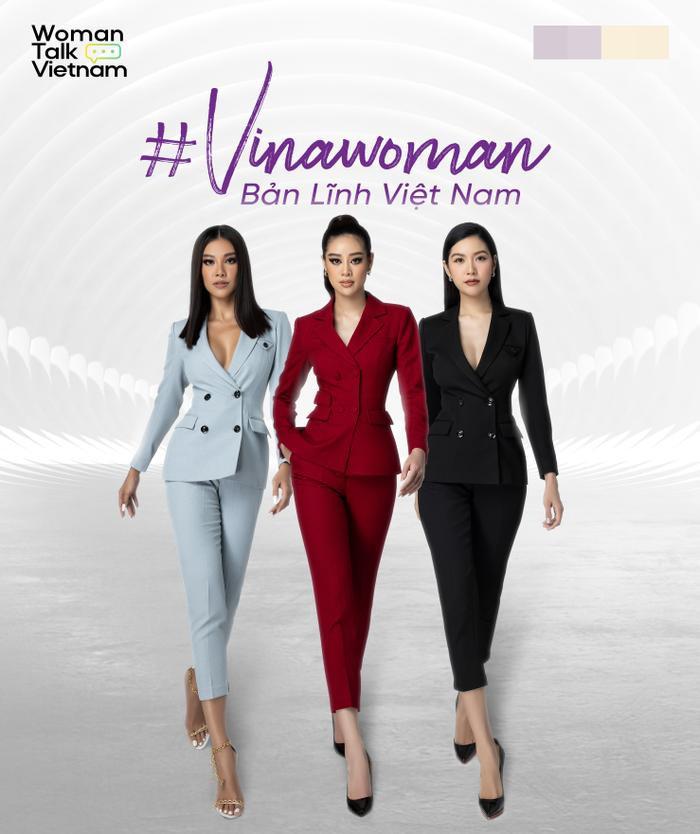 """Khánh Vân, H'Hen Niê, Kim Duyên lan tỏa sức mạnh nữ quyền tại """"VINAWOMAN - Bản lĩnh Việt Nam"""" Ảnh 1"""