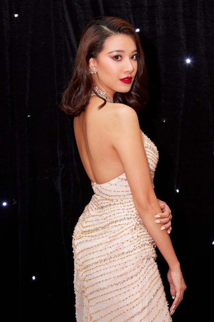 Hé lộ váy dạ hội của Kim Duyên: Fan rần rần ủng hộ đầm xuyên thấu chuẩn beauty queen Ảnh 3