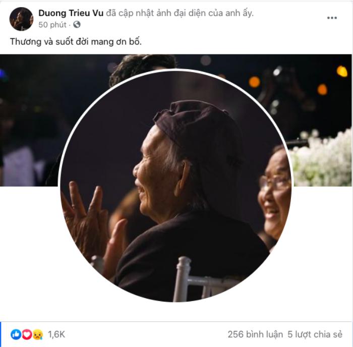 Bố NSƯT Hoài Linh, Dương Triệu Vũ từ trần, sao Việt 'nói lời ruột gan' chia buồn Ảnh 2