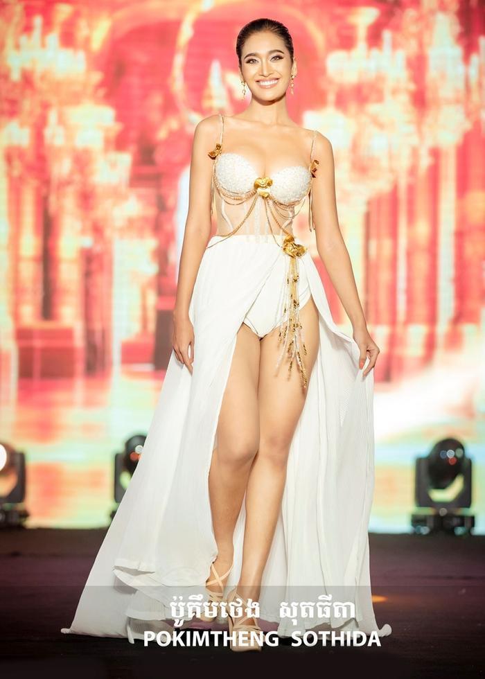 Miss Grand Campuchia 2021: Đối thủ nặng ký nước hàng xóm khiến Thùy Tiên phải dè chừng Ảnh 2