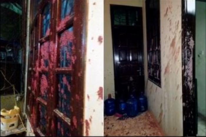 Xôn xao hình ảnh nhà Trang Khàn bị tạt mắm tôm và sơn, thực hư ra sao? Ảnh 2