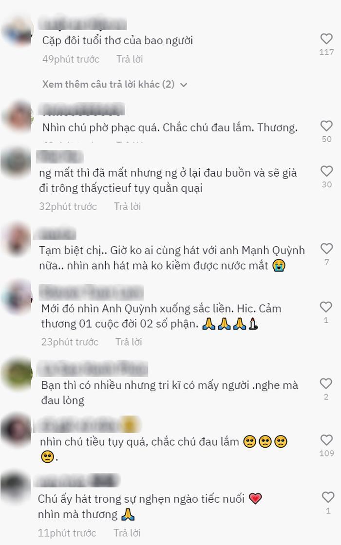 Nghe Mạnh Quỳnh hát 'Tiễn em lần cuối' tại lễ tang Phi Nhung, netizen nghẹn ngào: 'Chắc anh đau lắm' Ảnh 10