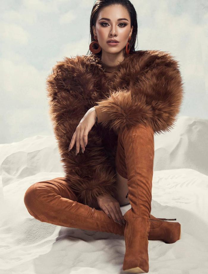 Kim Duyên vóc dáng 'căng đét' hé lộ Road to Miss Universe, H'Hen Niê đã sẵn sàng xin visa đi cổ vũ Ảnh 4