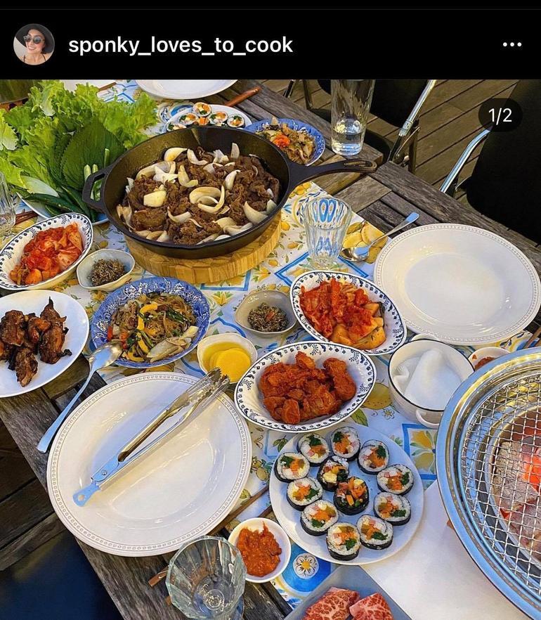 Hà Tăng khoe khả năng nấu ăn thần thánh với kênh instagram hơn 32 nghìn followers Ảnh 3