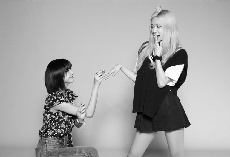 Lộ nghi vấn Lisa (BlackPink) bí mật đến thăm Rosé quay MV: Chị em tốt là đây! Ảnh 1