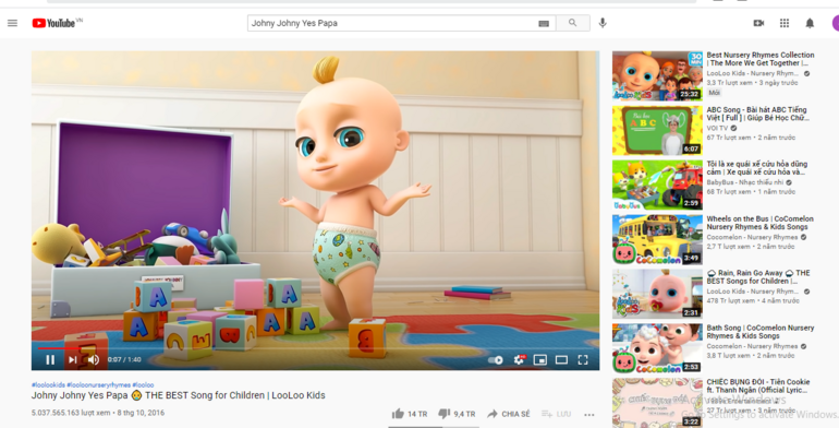 MV ăn dặm thứ 2 vượt mốc 5 tỷ views trên Youtube Ảnh 1