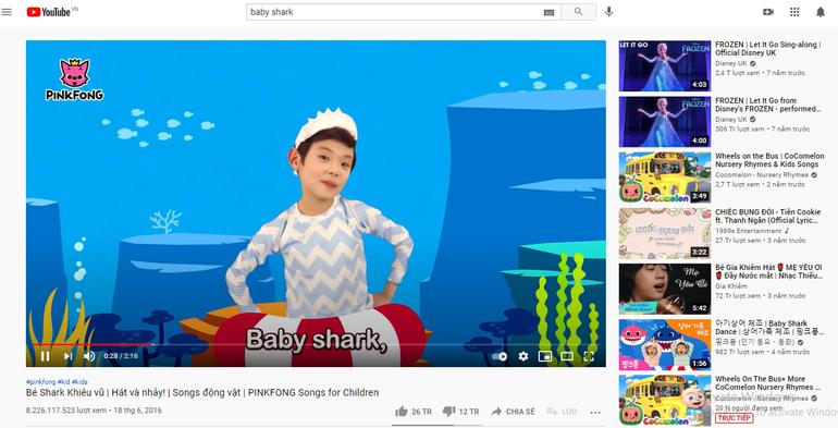 MV ăn dặm thứ 2 vượt mốc 5 tỷ views trên Youtube Ảnh 4