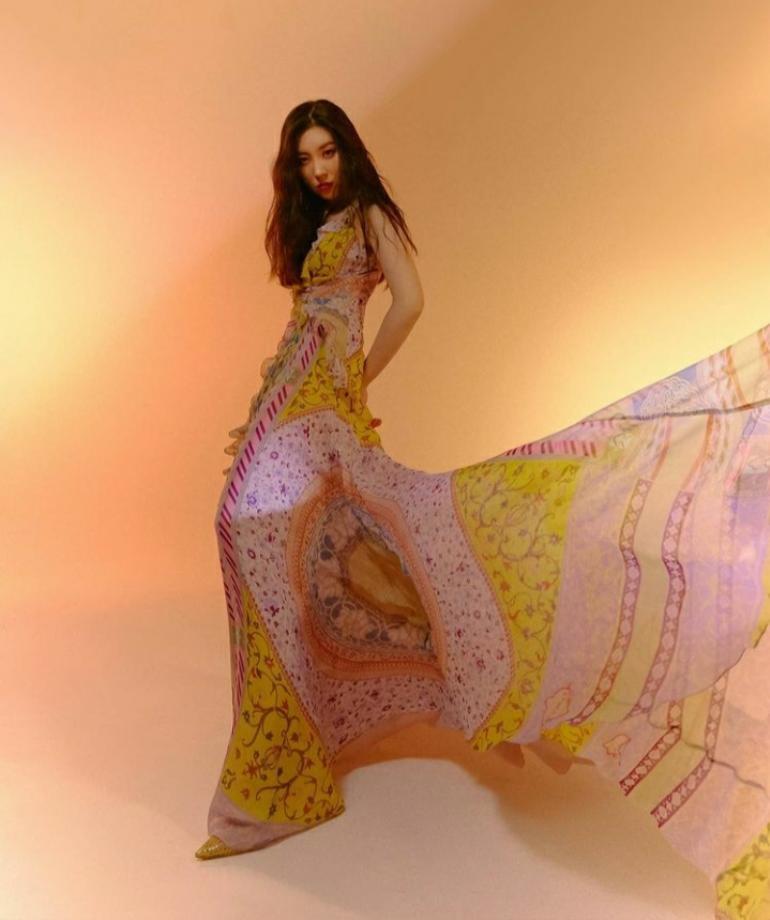 Sunmi thần thái ngút trời trong bộ ảnh chụp cho tạp chí Marie Claire Ảnh 4