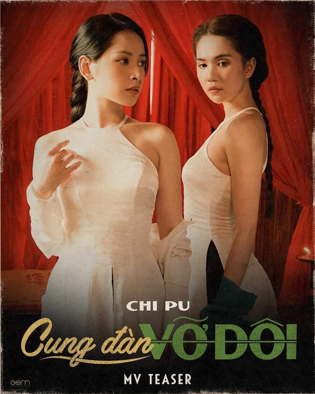 Chi Pu tặng bộ lô tô cho khán giả ngày ra mắt MV Cung đàn vỡ đôi