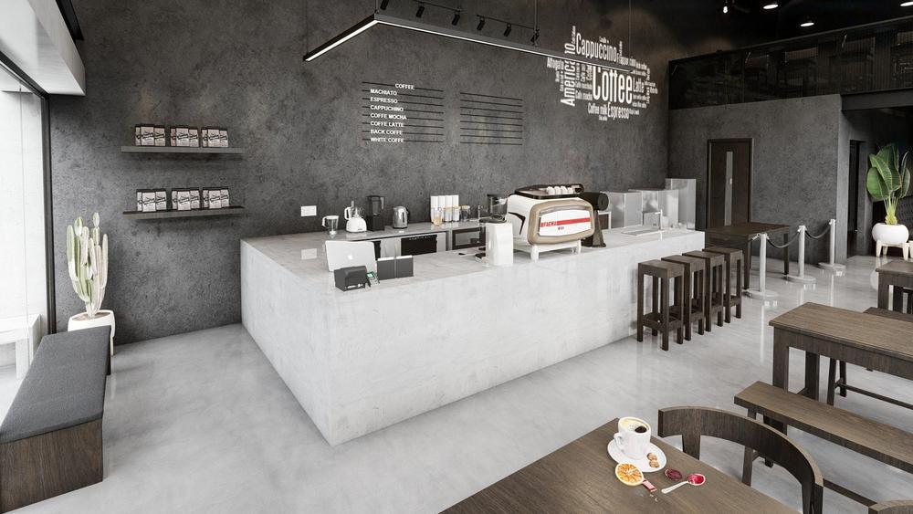 Chiêm ngưỡng mẫu thiết kế quán cafe cá tính, độc đáo Ảnh 2