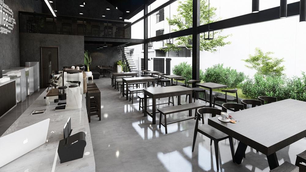 Chiêm ngưỡng mẫu thiết kế quán cafe cá tính, độc đáo Ảnh 3
