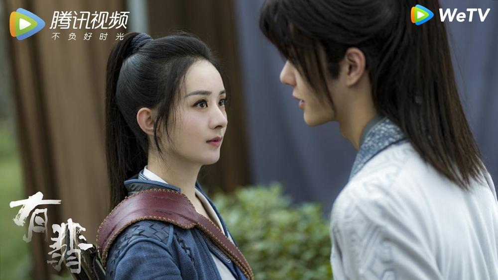 Fan Việt bấn loạn với cảnh hôn sáng tạo của Vương Nhất Bác - Triệu Lệ Dĩnh trong 'Hữu Phỉ' Ảnh 2