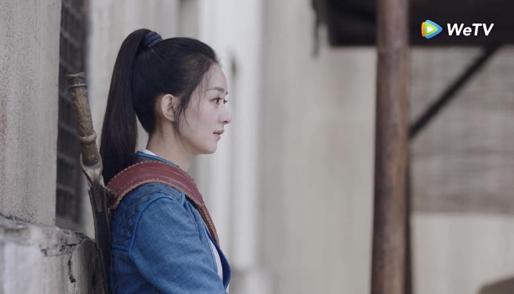 Fan Việt bấn loạn với cảnh hôn sáng tạo của Vương Nhất Bác - Triệu Lệ Dĩnh trong 'Hữu Phỉ' Ảnh 11