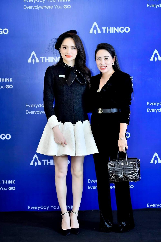 Nữ doanh nhân Phạm Quỳnh xuất hiện cùng Hoa Hậu Hương Giang Ảnh 3