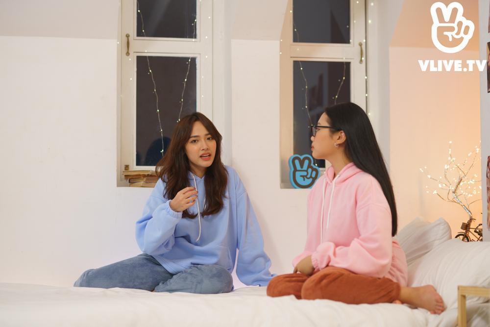 'Chill Baby Chill' tập 2: Phương Mỹ Chi 'hi sinh' mái tóc bết để làm nổi bật chủ nhà Cara Ảnh 9